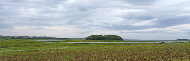 panorama ile du prince edouard paysage