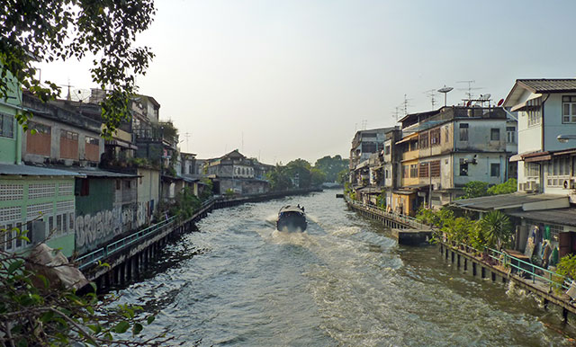 Khlongs, Bangkok, Thaïlande