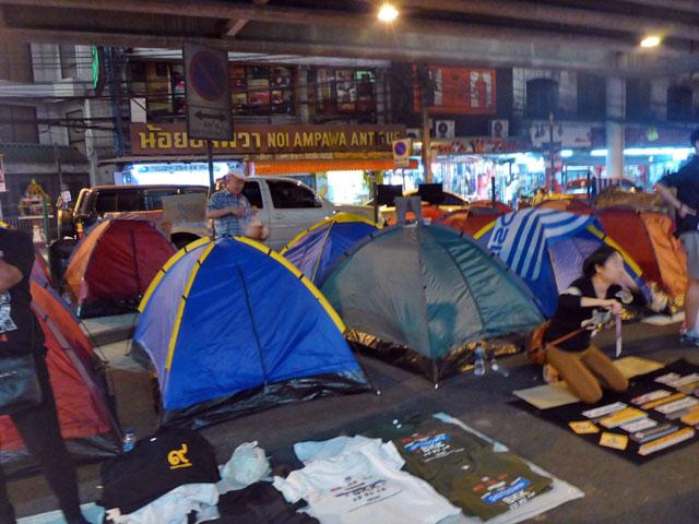 Manifestations Bangkok