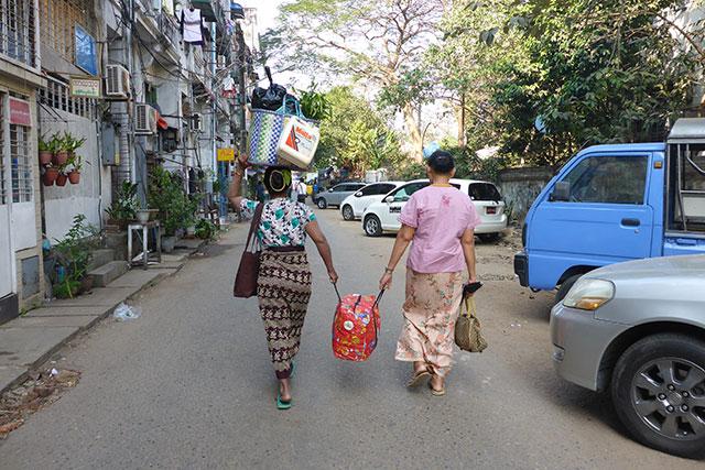 myanmar birmanie femme