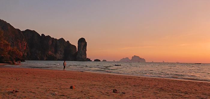 coucher de soleil ao nang