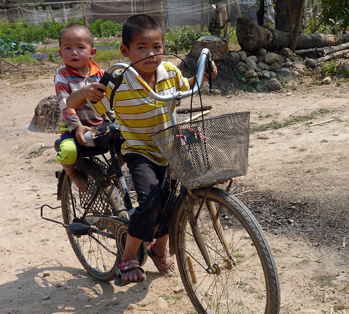 muang sing laos enfants