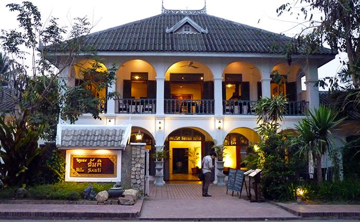 Luang Prabang, maison coloniale
