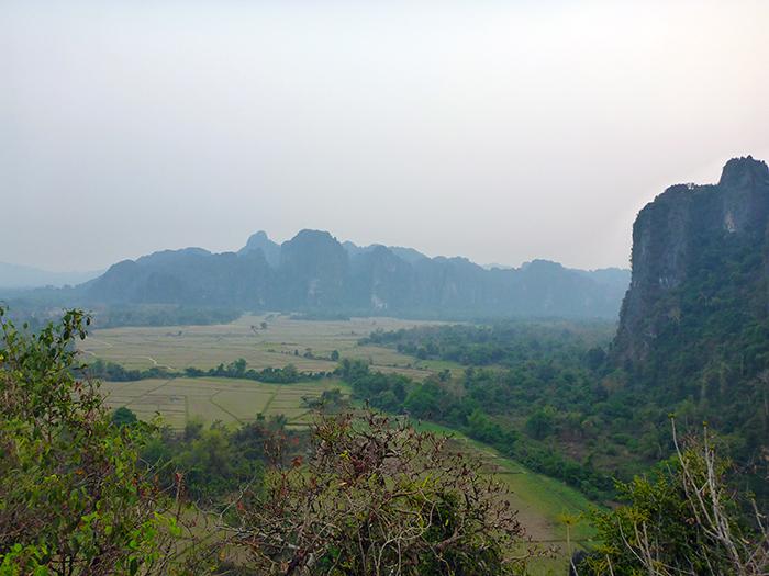 Vang VIeng Mongolfière Laos