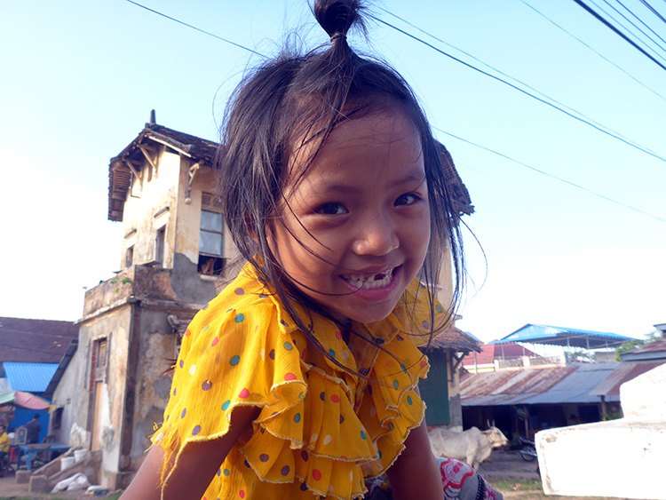 Enfant Cambodge