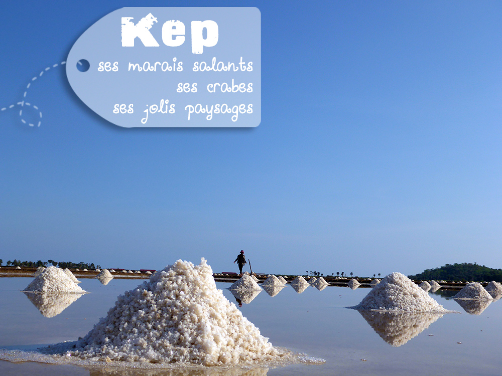 Kep Marais Salants Cambodge