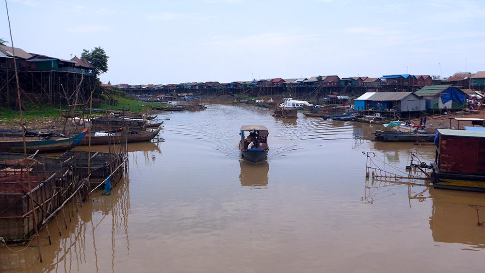 Kompong Khleang Cambodge
