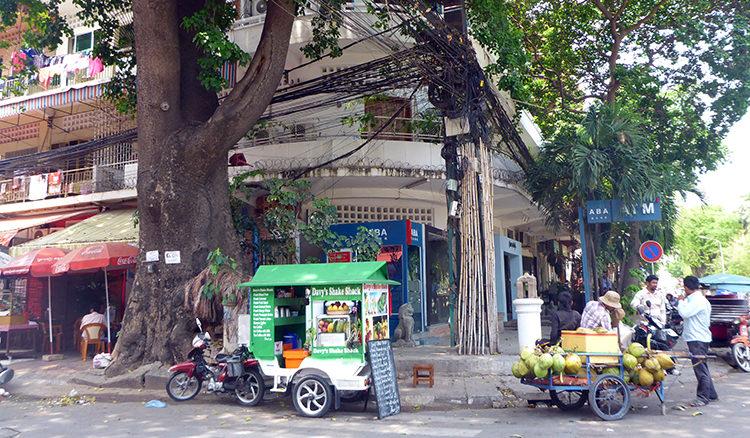 Rue, Phnom Penh, Cambodge