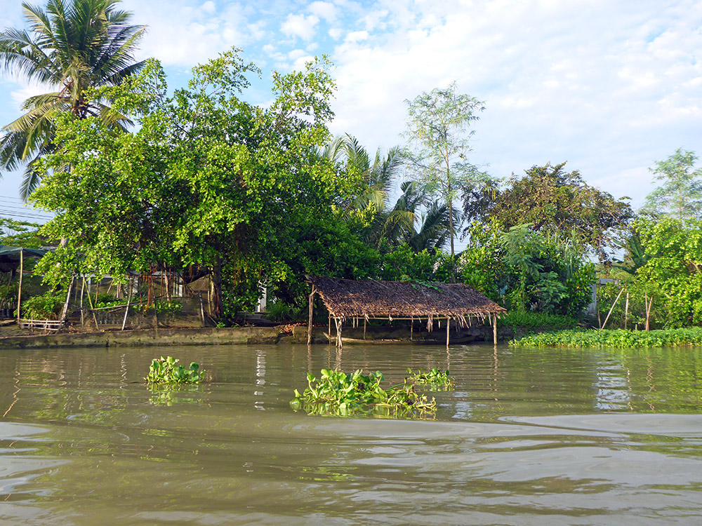 Les marchés flottants de Can Tho, Delta du Mékong, Vietnam
