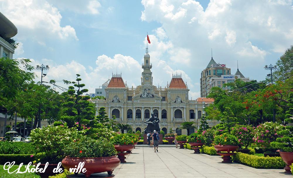 Hôtel de ville, Hô-Chi-Minh-Ville, Vietnam