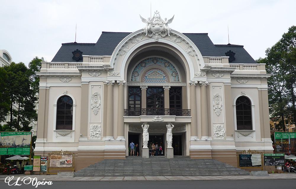 Opéra, Hô-Chi-Minh-Ville, Vietnam
