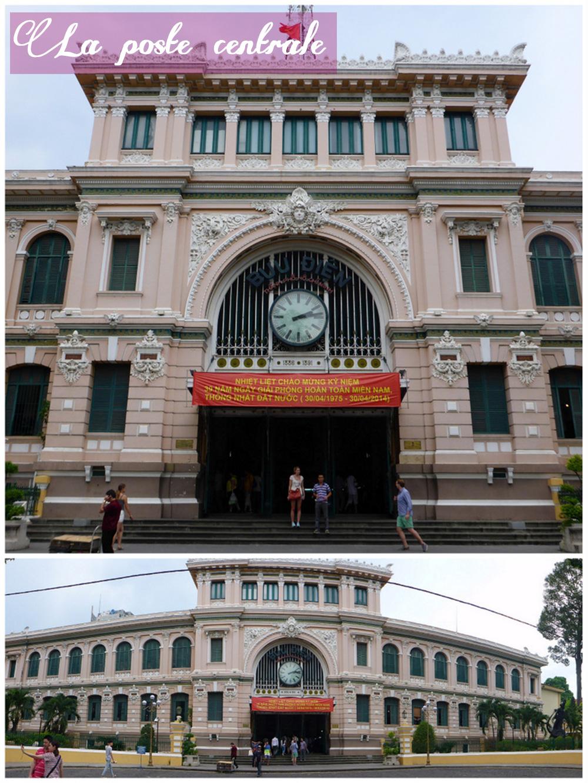 Poste Centrale, Hô-Chi-Minh-Ville, Vietnam