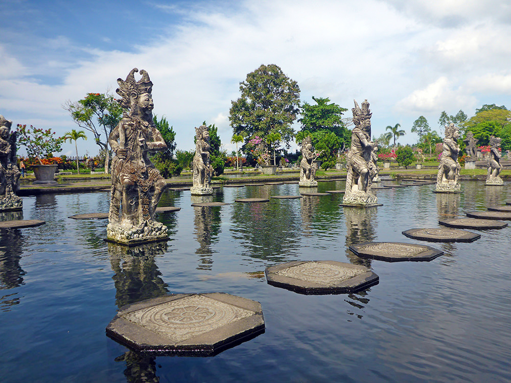 Palais Royal, Tirta Gangga, Bali, Indonésie