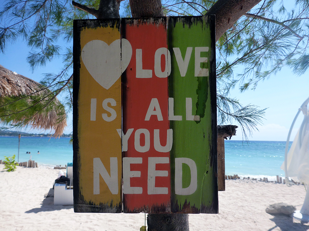 Indonésie, Gili Air, All you need is love