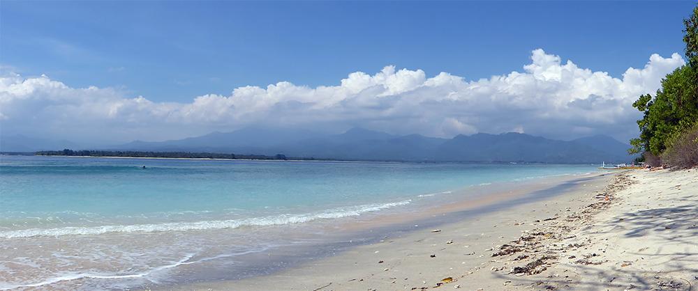 Indonésie, Gili Air, Plage