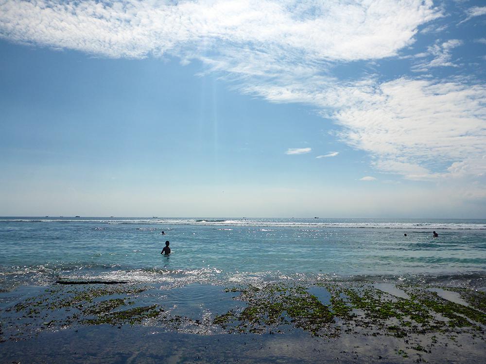 Péninsule de Bukit, Bingin, Plage de surfeur, Bali, Indonésie