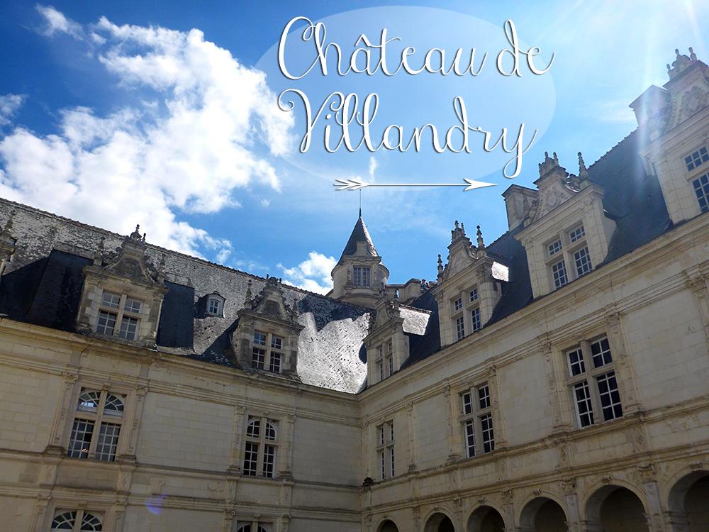 Façade du Château de Villandry, Pays de la  Loire