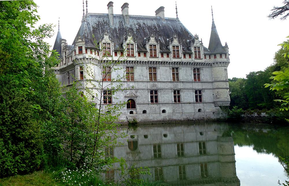 Château d'Azay-le-Rideau, Pays de la Loire