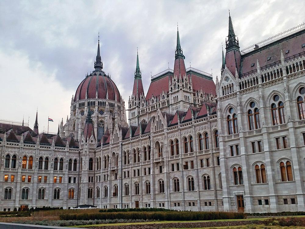 Quartier du Parlement de Budapest