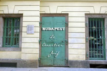 Budapest : Le quartier Juif