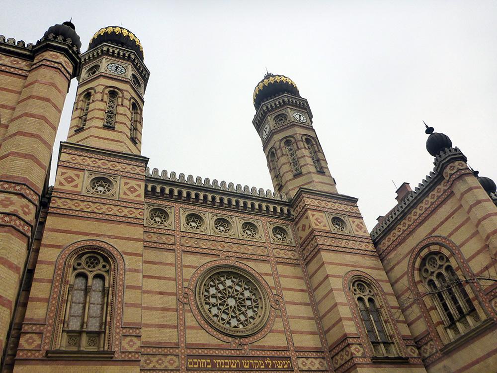 Budapest : Le quartier juif et la grande synagogue