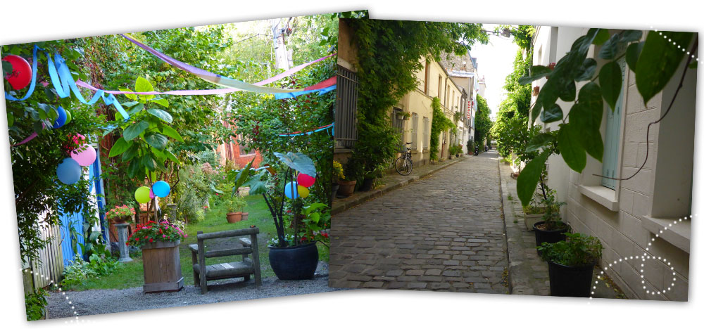 Ruelles Vertes VS Villages Parisien