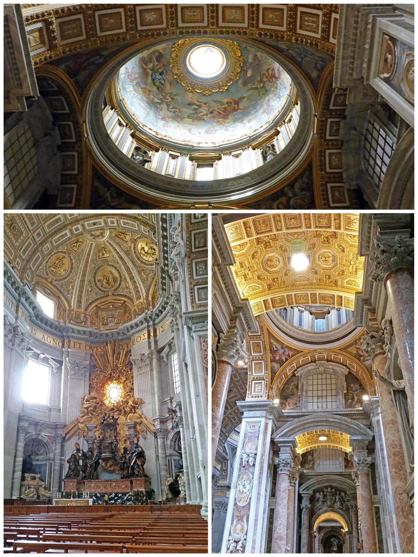 Visiter la Basilique Saint-Pierre au cours d'un long week-end à Rome