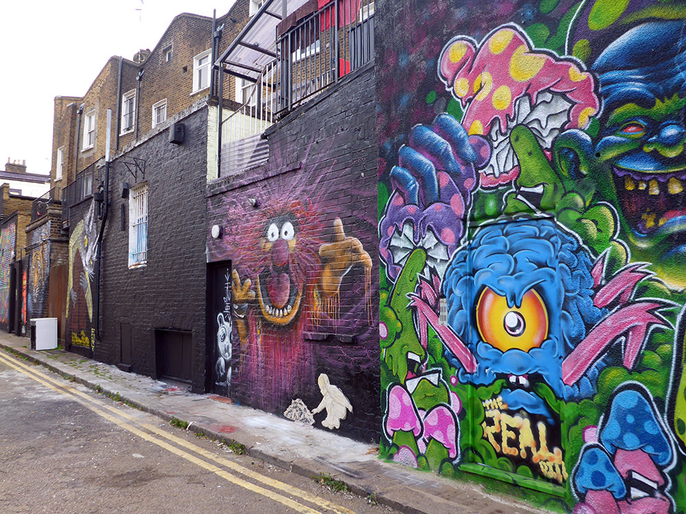 Week-end à Londres : Street art à Camden Town