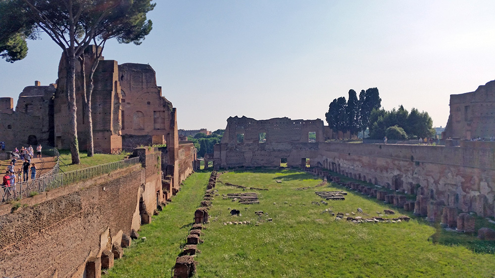 Le Palatin de Rome, Italie