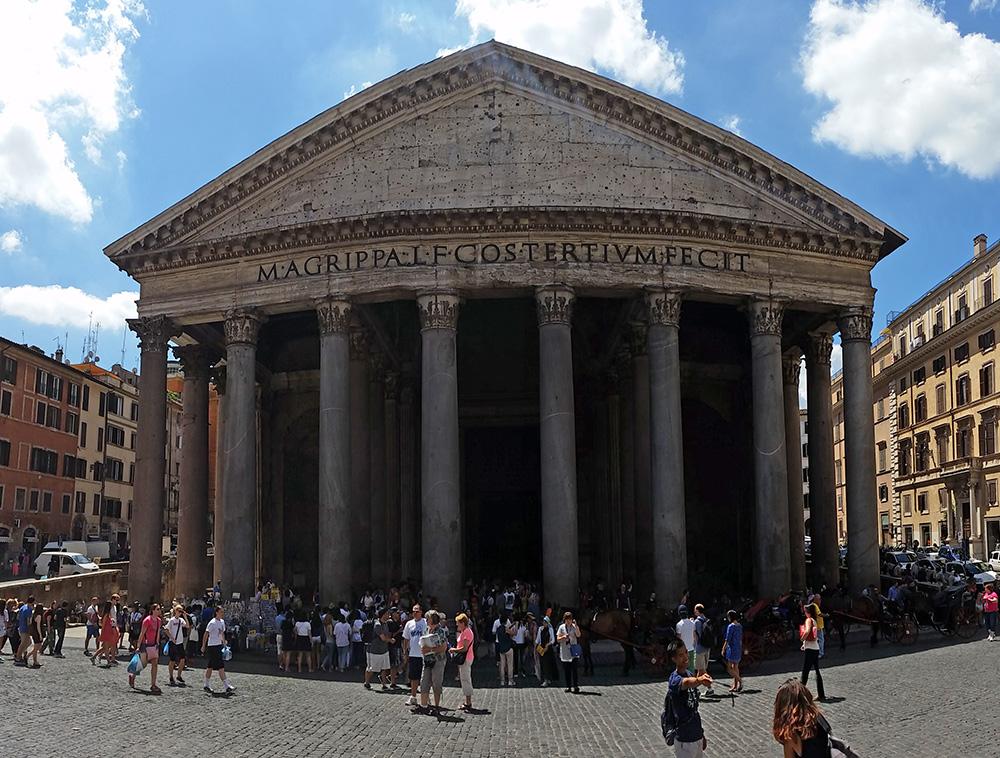 Le Panthéon de Rome, Italie