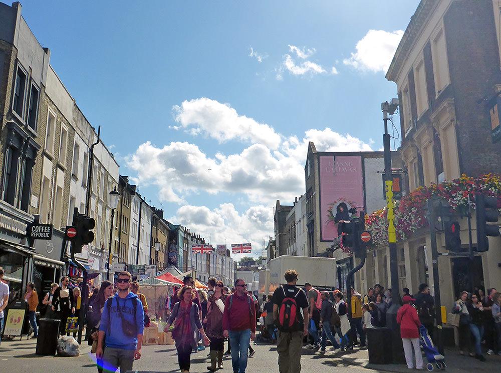 Marché de Portobello, Londres