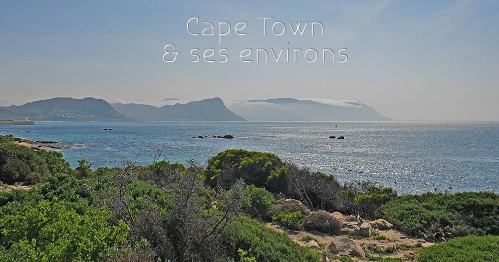 Cap Town et ses environs