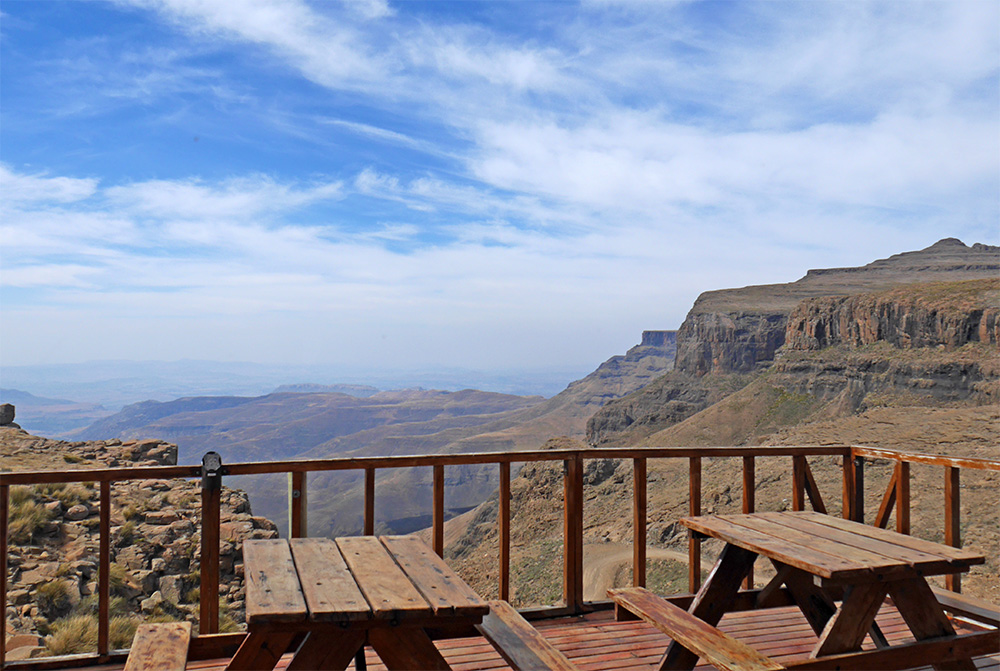 Vue panoramique Sani Top