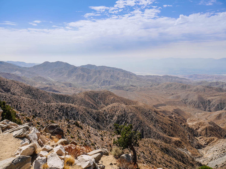 Les paysages désertiques de Joshua Tree National Park