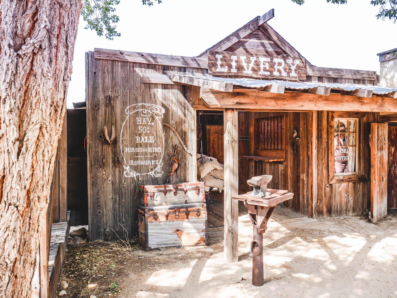 Pioneertown : ville fantôme fictive qui a servi de décor à de nombreux films