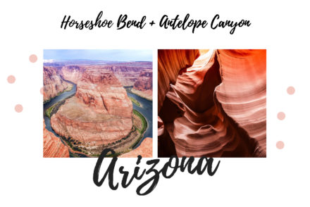 Couverture article Horseshoe Bend et Antelope Canyon, Arizona