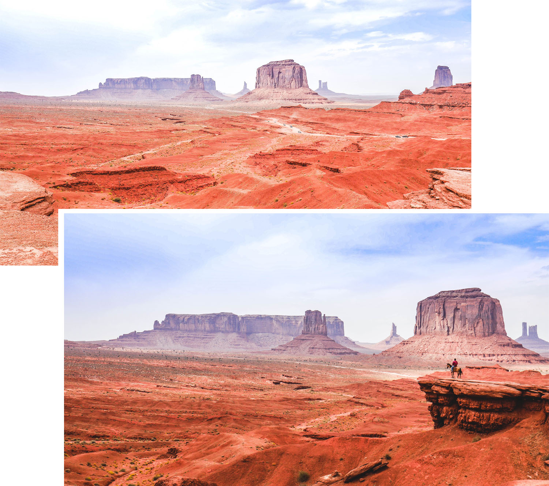 Monument Valley et ses paysages mystiques