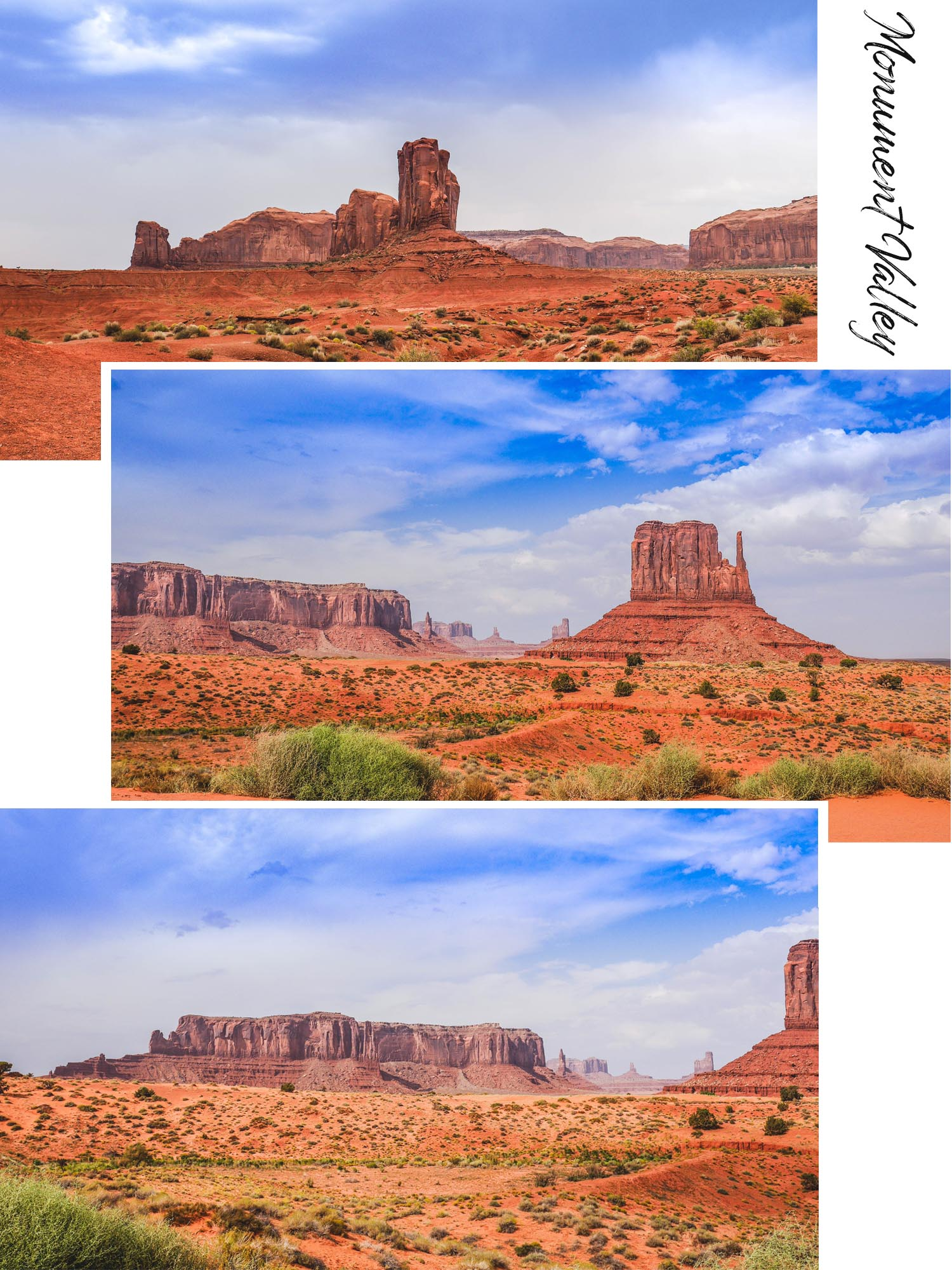 Monument Valley, aux confins de l'Arizona et de l'Utah