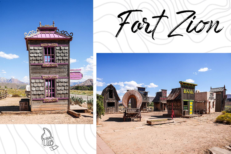 Faire une pause à Fort Zion pendant son road trip aux USA